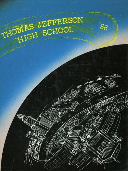 1986 Jefferson High School Yearbook Cover