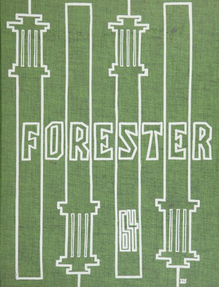 1964 Forest Hills High School Yearbook Cover