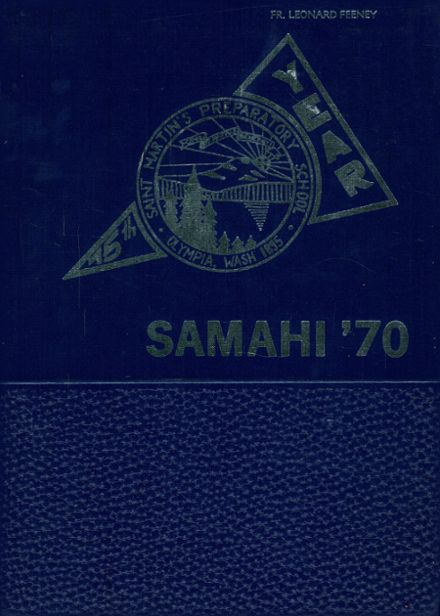 1970 St. Martin's High School Yearbook Cover