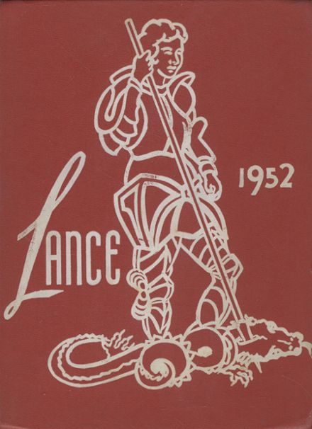 1952 St. George's School Yearbook Cover