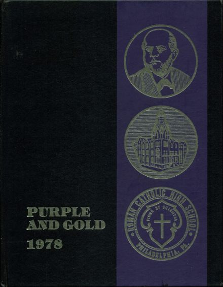 1978 Roman Catholic High School Yearbook Cover