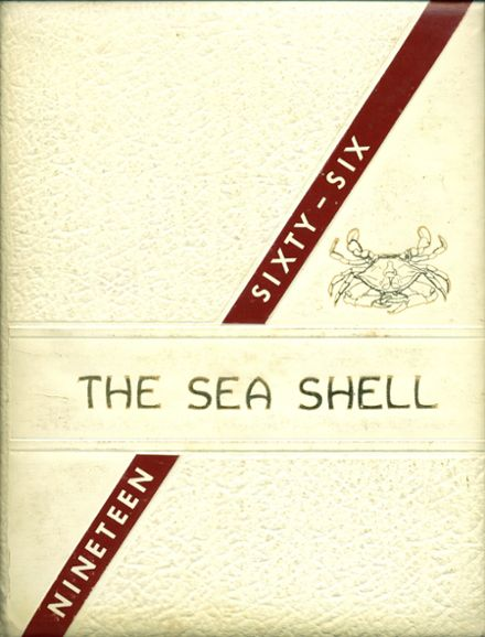 1966 Crisfield High School Yearbook Cover