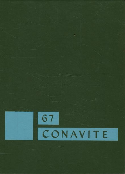1967 Conant High School Yearbook Cover