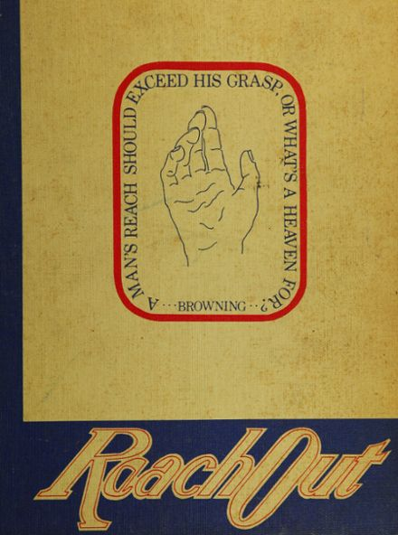 1974 Rockledge High School Yearbook Cover
