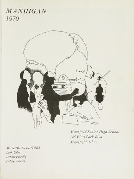1970 Mansfield High School Yearbook Page 5