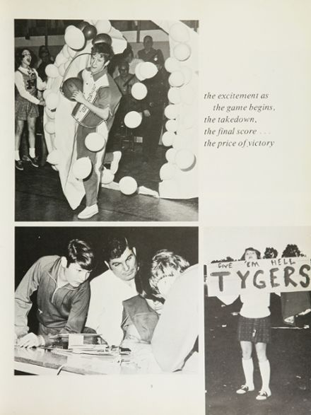 1970 Mansfield High School Yearbook Page 7