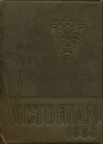 1959 Villa Victoria Academy Yearbook Cover