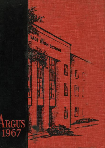 1967 Rockford High School Yearbook Cover