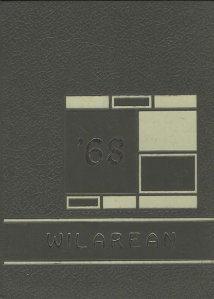 1968 Wilmington Area High School Yearbook Cover
