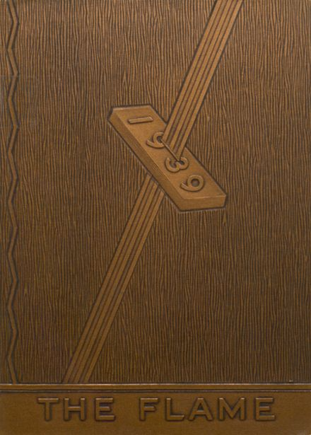 1939 Casey-Westfield High School Yearbook Cover