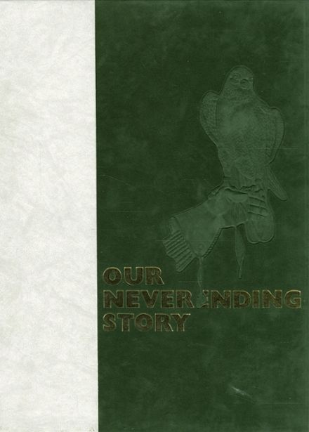 1986 Clearfield High School Yearbook Cover
