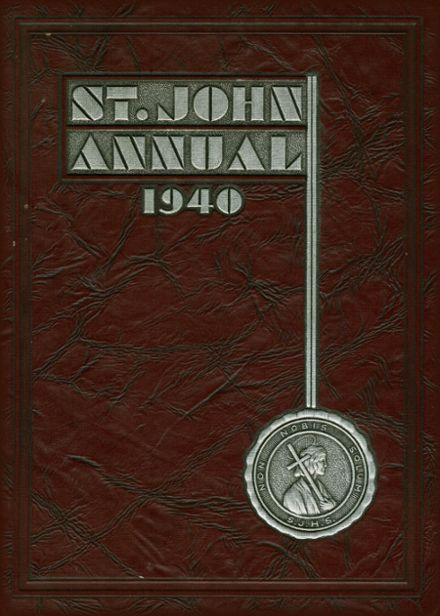 1940 St. John's Cathedral School Yearbook Cover