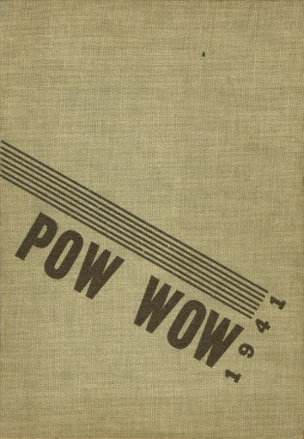 1941 Indianola High School Yearbook Cover