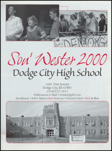 explore 2000 dodge city high school yearbook dodge city ks classmates. Cars Review. Best American Auto & Cars Review