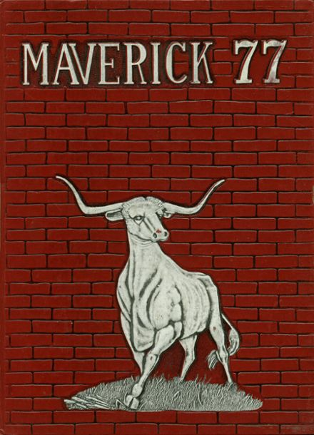 1977 Marshall High School Yearbook Cover