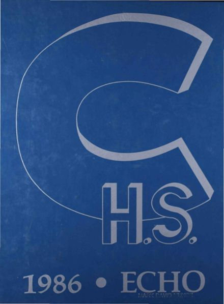 1986 Carlsbad Senior High School Yearbook Cover