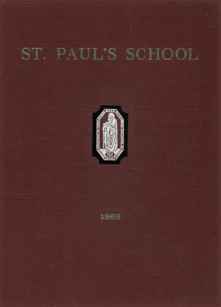 1968 St. Paul's School Yearbook Cover