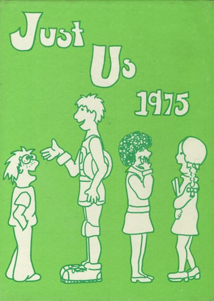 1975 Hastings High School Yearbook Cover