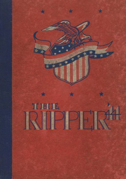 1944 Girl's Trade & Tech High School Yearbook Cover
