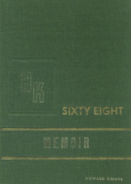 1968 Berne-Knox-Westerlo High School Yearbook Cover