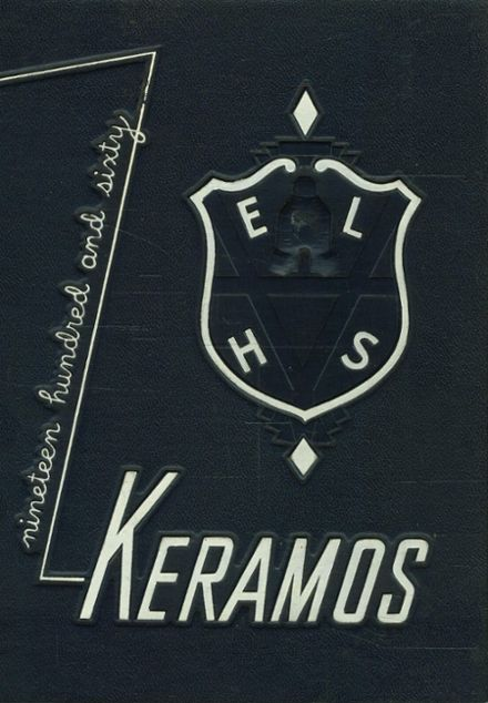 1960 East Liverpool High School Yearbook Cover