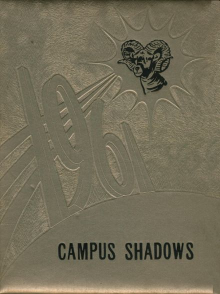 1961 Rivesville High School Yearbook Cover