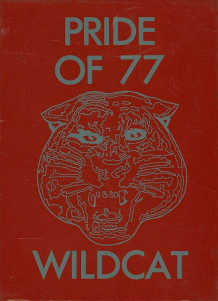 1977 Laney High School Yearbook Cover