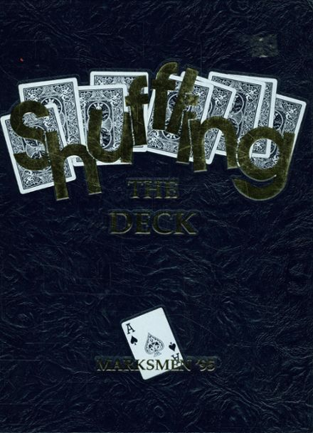 1995 St. Mark's School of Texas Yearbook Cover