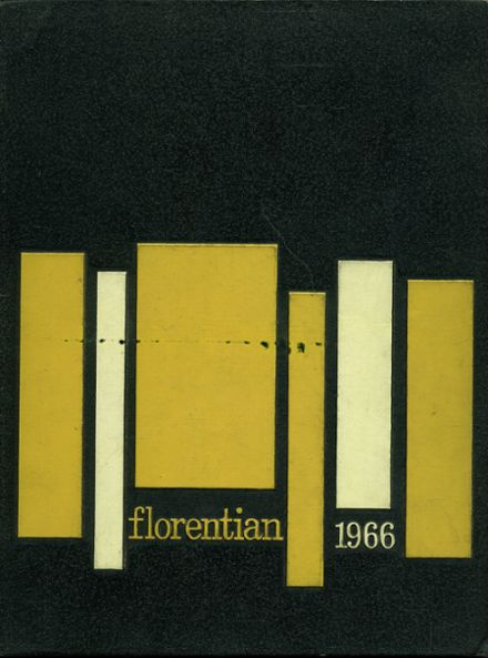 1966 Central Catholic High School Yearbook Cover