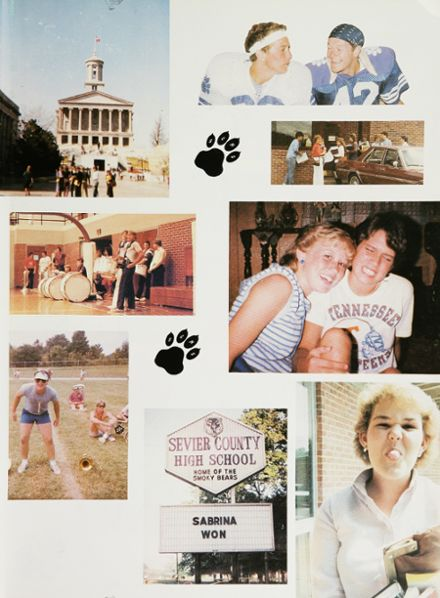 Explore 1984 Sevier County High School Yearbook ...