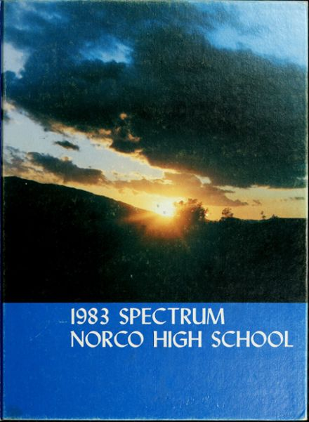 1983 Norco High School Yearbook Cover