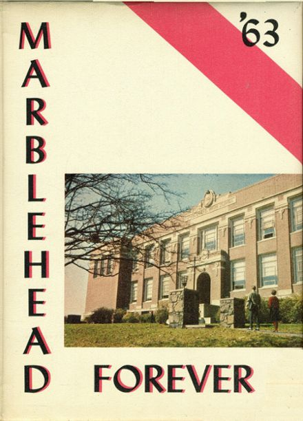 1963 Marblehead High School Yearbook Cover