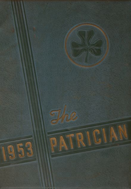 1953 St. Patrick's High School Yearbook Cover