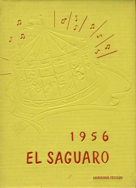 1956 Yuma Union High School Yearbook Cover