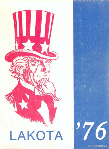 1976 Northwest High School Yearbook Cover