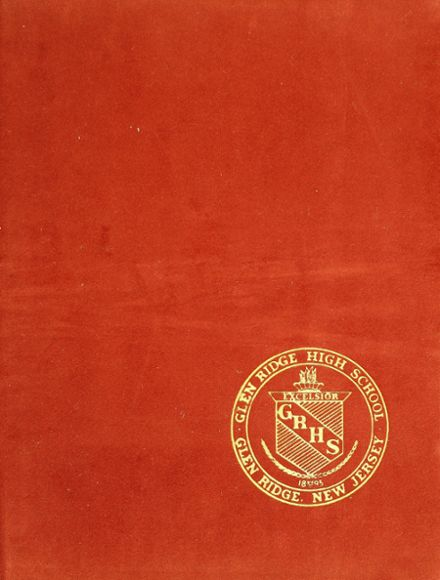 1965 Glen Ridge High School Yearbook Cover