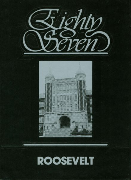 1987 Roosevelt High School Yearbook Cover