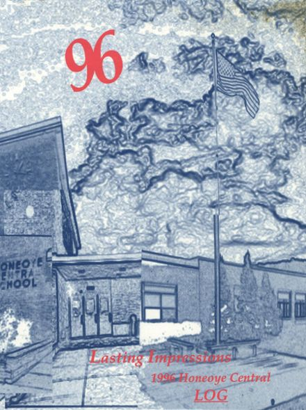 1996 Honeoye Central High School Yearbook Cover