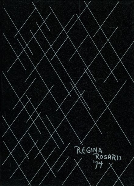 1974 St. Mary's Dominican High School Yearbook Cover