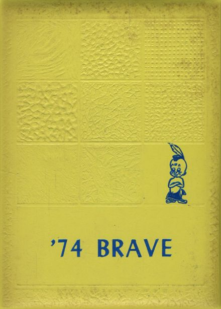 1974 Community High School Yearbook Cover