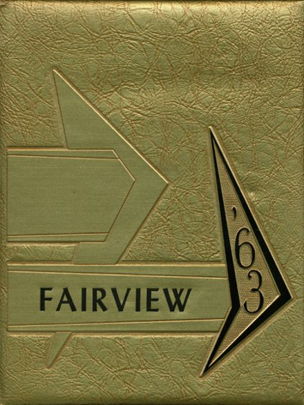 1963 Fairview High School Yearbook Cover