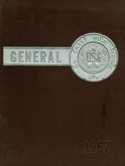 1967 U.S. Grant High School Yearbook Cover