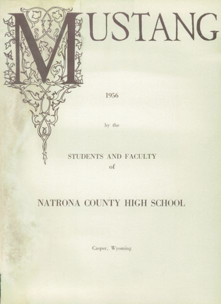 1956 Natrona County High School Yearbook Page 5