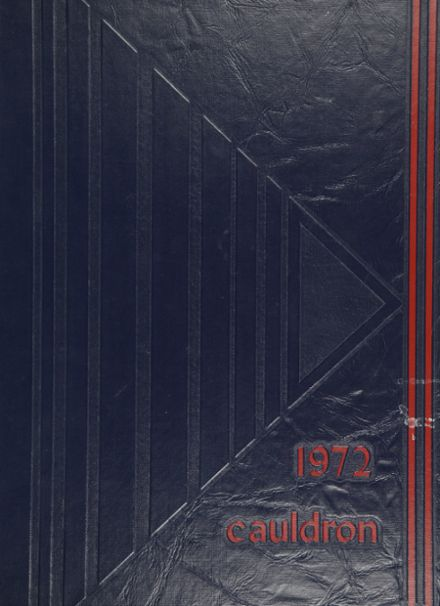 1972 Liberty High School Yearbook Cover