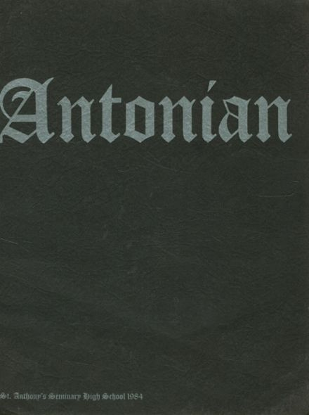 1984 St. Anthony's High School Yearbook Cover