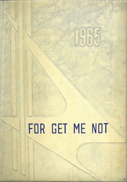1965 Stanley High School Yearbook Cover