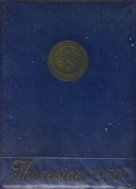 1950 St. Theresa's College Yearbook Cover