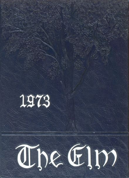 1973 Wethersfield High School Yearbook Cover