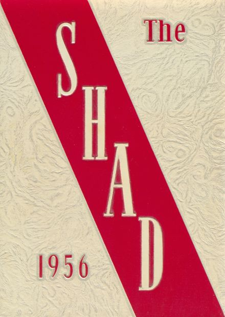 1956 Shattuck - St. Mary's School Yearbook Cover