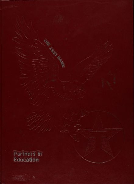 1985 Hardin-Jefferson High School Yearbook Cover